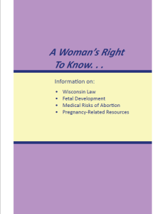 Wisconsin Informed Consent Booklet